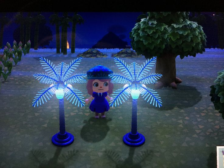 animal crossing palm tree lamp Google Search in 2020
