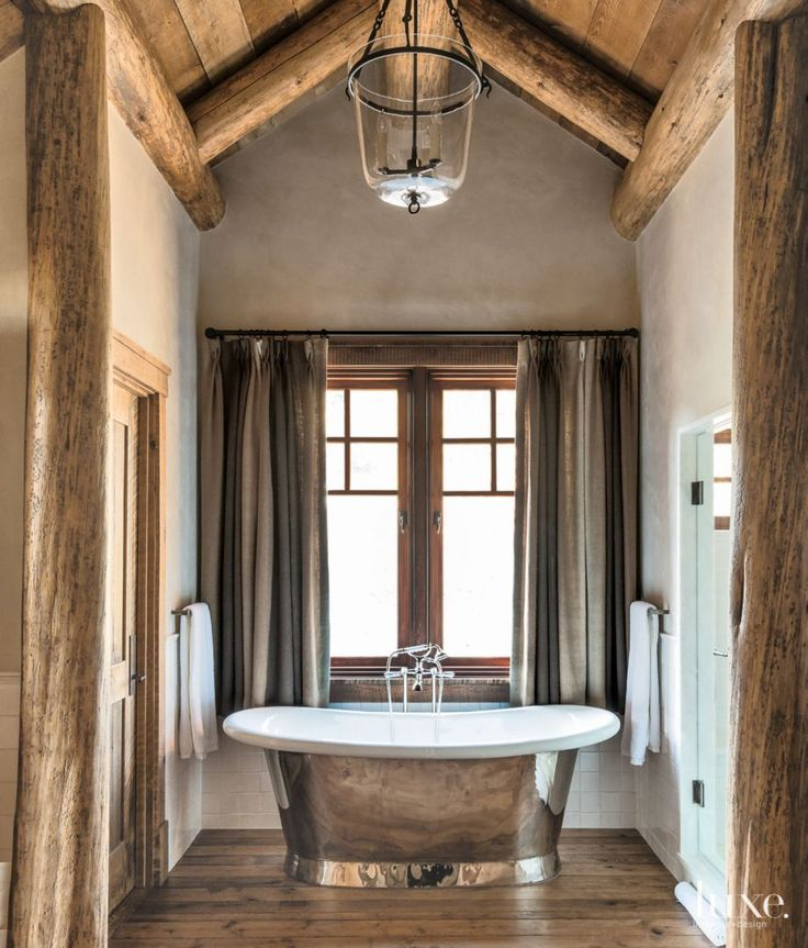 24 best traditional bathrooms images on pinterest for Wooden nickel cabins