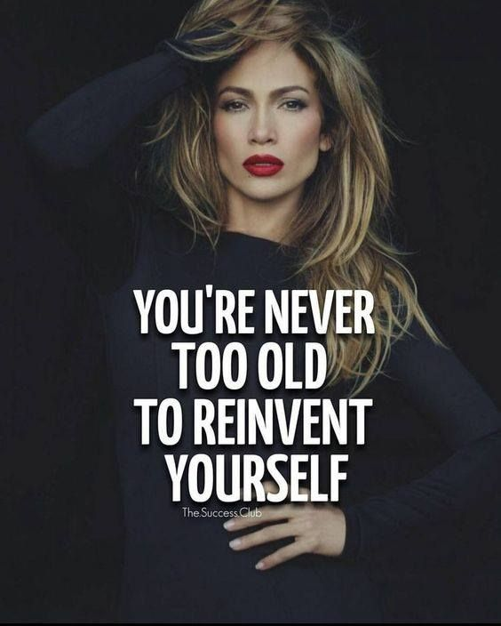 You're never too old to reinvest yourself.  http://ift.tt/1QWx9sf