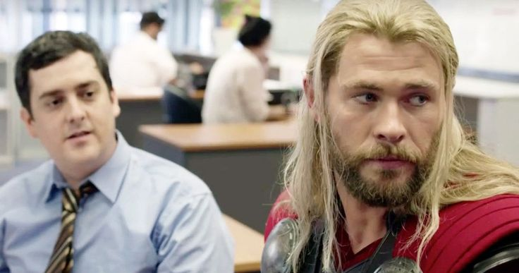 Should Thor and His Roommate Darryl Get a Netflix Series? -- After the release of the video that shows what Thor was doing during Captain America: Civil War, fans are now petitioning for a Netflix series with Thor and Darryl. -- http://movieweb.com/thor-darryl-avengers-netflix-series-petition/