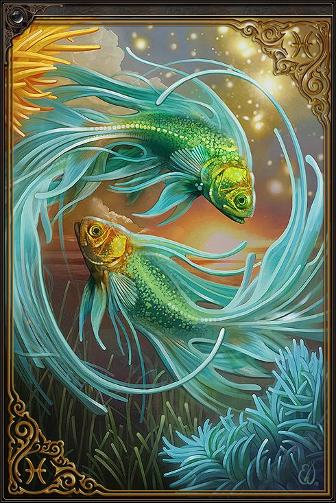 PISCES BY EWILLUSTRATION