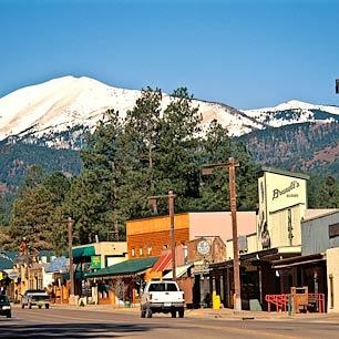 Viviré en las montañas en New Mexico.