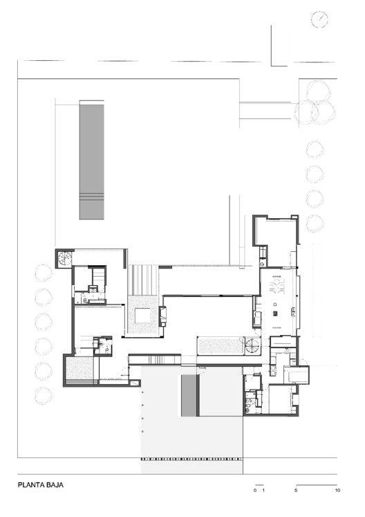 Casa BR,Planta Primer Nivel