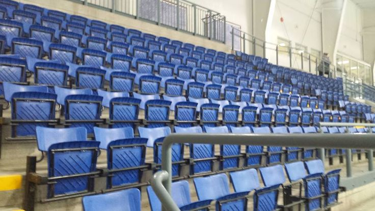Supporter chairs for hockey rink. Come watch friends or family play, or cheer on are beloved Georgina Blaze hockey team.