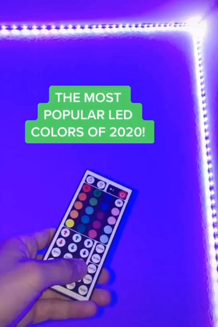 LED Light Strip W/ Remote [Video] [Video] in 2020 Led