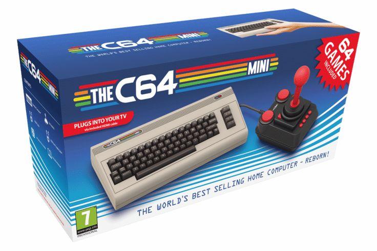 Le C64 Mini arrive!: Plus de 35 ans après sa sortie initiale, le Commodore 64 est de retour pour la joie des nostalgiques