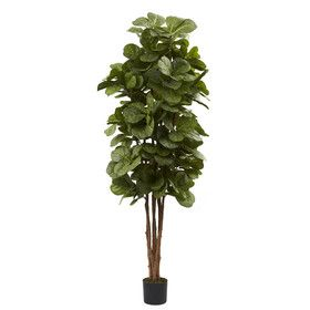 Nearly Natural Fiddle Leaf Fig Tree in Pot