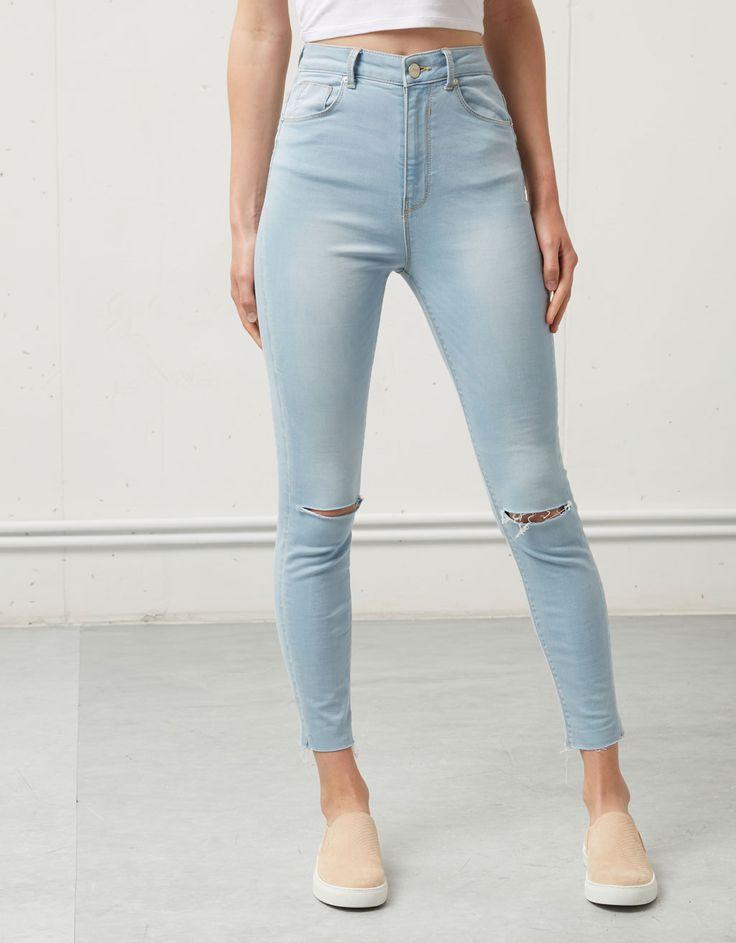 Jeans Bershka tiro alto - Jeans - Bershka España
