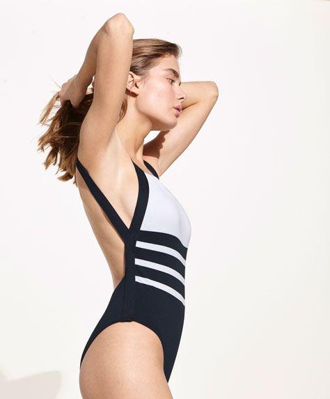Kупальники - ПЛЯЖНАЯ ОДЕЖДА - Тенденции женской моды весна лето | Oysho #marinerooutfits