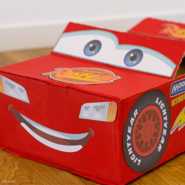 Lightning McQueen Car
