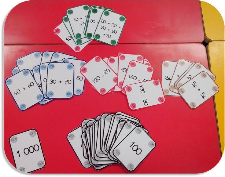 Mistigri du 100 - Utiliser l'idee du mistigri pour travailler le vocabulaire. paire de synonymes? ou infinitif / passe compose...