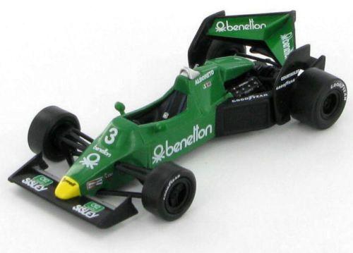 Tyrrell-Ford-Benetton-012-Test-Car-Michele-Alboreto-1983-1-43