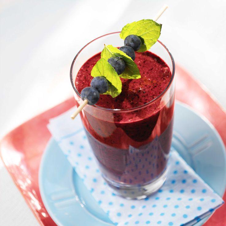 Blåbærsmoothie passer perfekt når du har lyst på noe ekstra godt og smakfullt.
