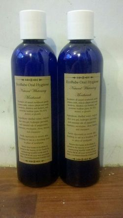 Whitening Natural Mouthwash. Whitens teeth, reduces plaque, relieves canker sores and gum sores, and more!