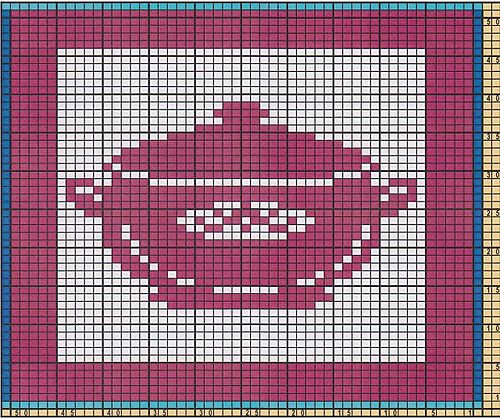 Ravelry: Potholder Cooking pot pattern by Regina Schoenfeldt