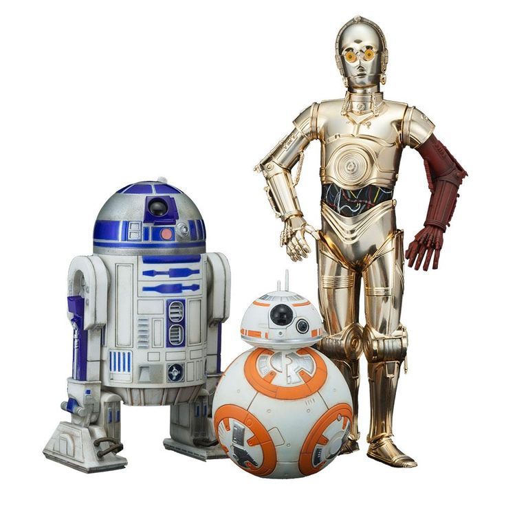 R2d2 And C3po Toys : C po r d bb kotobukiya star wars the force awakens