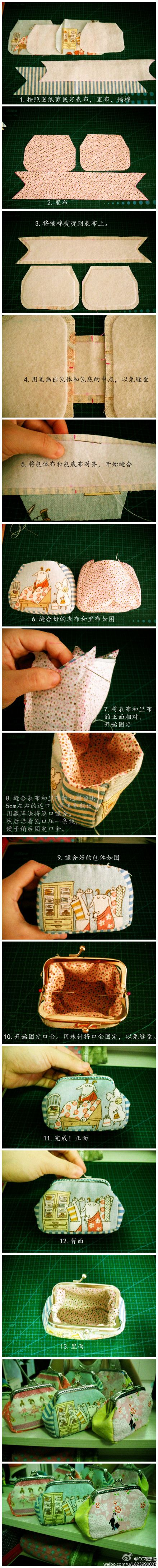 8.5cm square mouth gold package making tutorial
