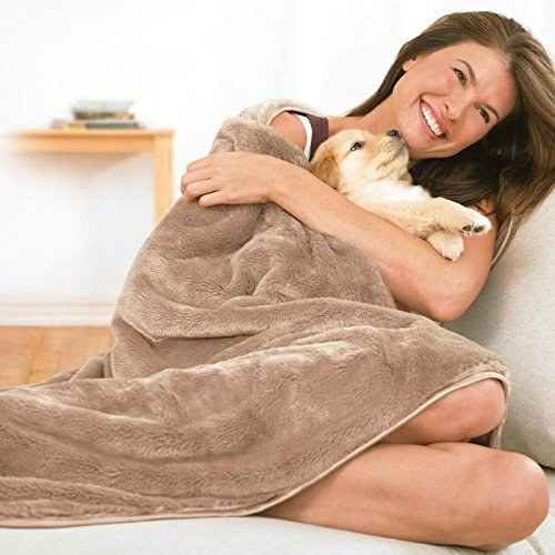 Possibly the softest blanket you'll ever wrap yourself in.