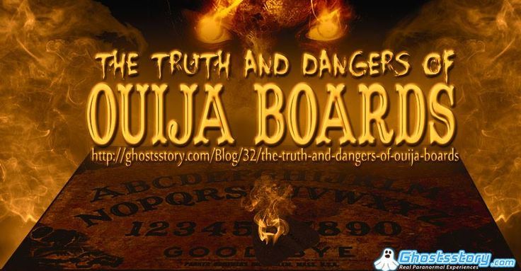 This is a real, true personal paranormal experience. Learn of a terrifying Ouija board experience gone horribly wrong...