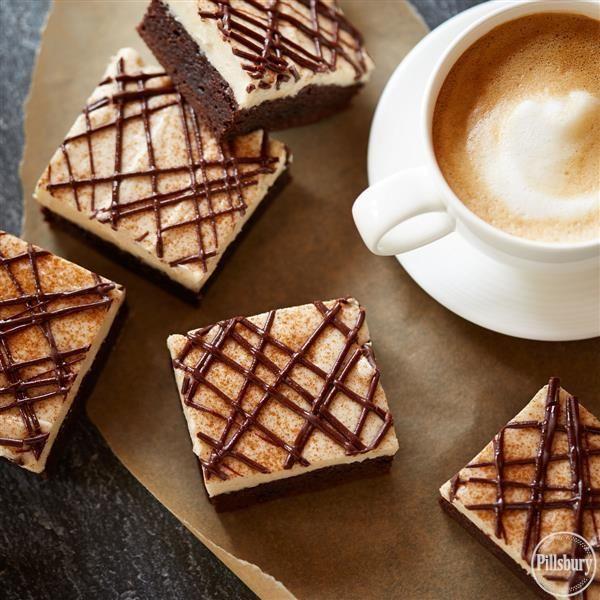 Creamy Cappuccino Brownies from Pillsbury®
