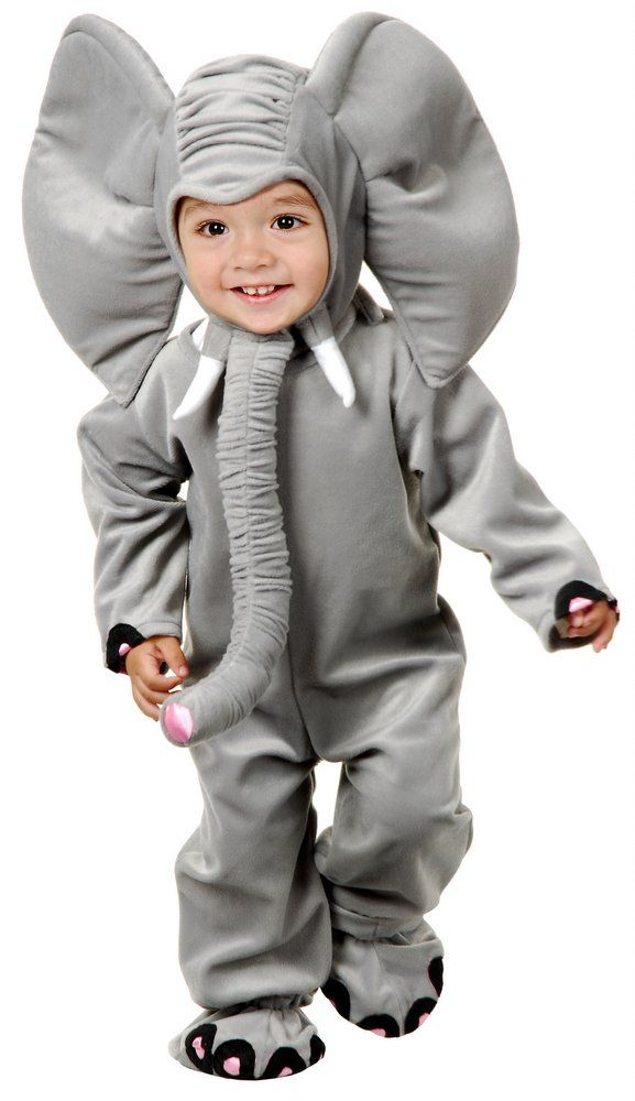 Deluxe Child/Toddler Plush Elephant Costume - Candy Apple Costumes - Deluxe…