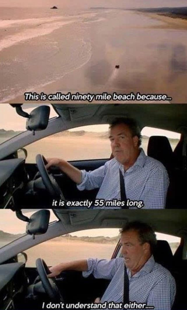 Not Even Jeremy Clarksons Genius Can Figure That Out Top Gear
