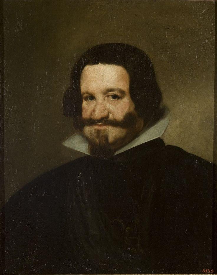 Diego Velázquez de Silva (1599–1660) - Portrait of Count-Duke de Olivares, c 1638 - El Hermitage trae a Ámsterdam el Siglo de Oro español - 20minutos.es