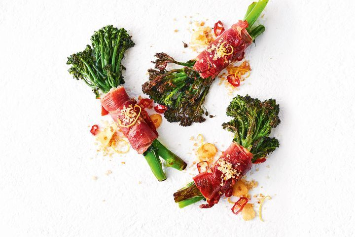Broccolini wraps
