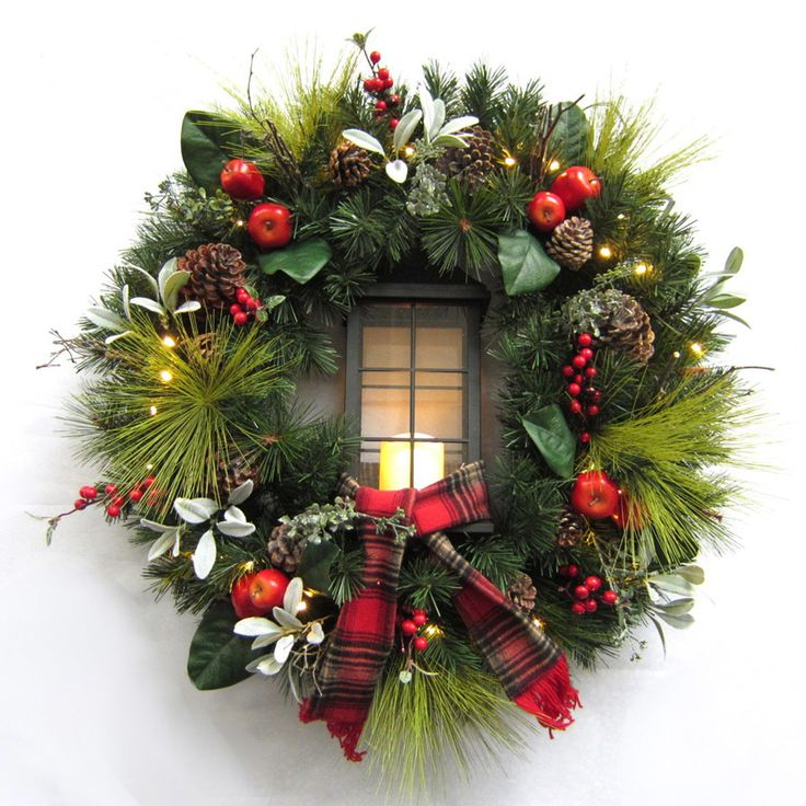 The 25+ best Artificial christmas wreaths ideas on