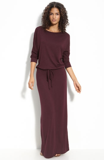 hem a maxi dress in fall