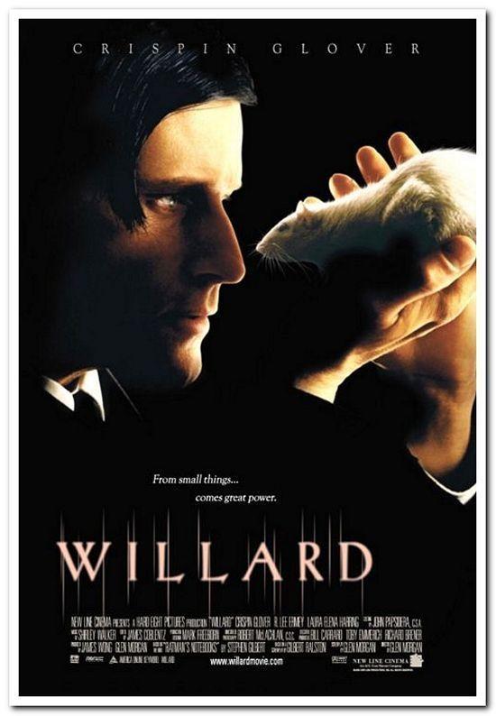 WILLARD - 2003 - Original 27x40 Movie Poster - CRISPIN