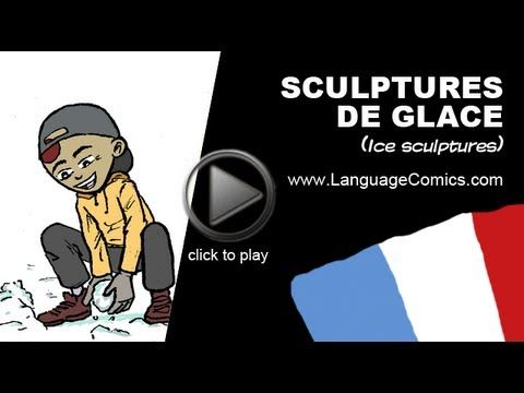 Practice your pronunciation and learn #French with this episode and many more. Enjoy and share! http://www.youtube.com/watch?v=OOmKvoc4Jbg    ------------------------------------------  Also find us on:  http://www.Facebook.com/languagecomics and http://www.YouTube.com/languagecomicsteam