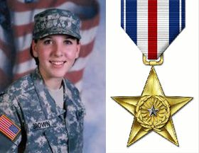 Army Spc. Monica Lin Brown has received the Silver Star for her valor in Afghanistan. In an interview on CNN this morning, the 19-year-old Texan told how ...