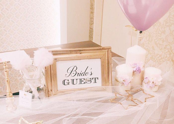 結婚式の受付スペースの飾り付けアイデアまとめ