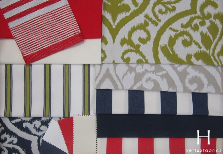 This is outdoor fabric. But I really like the colour scheme. Again, change the green for yellow