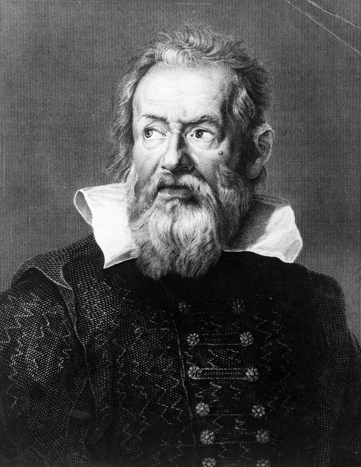 Galileo Galilei. Astronomer whose discoverments were banned by the Catholic Church