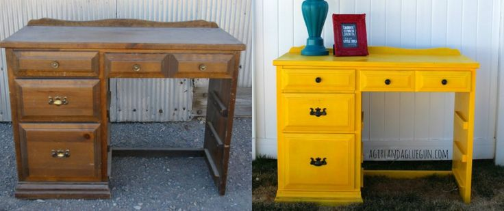 Best 25 yellow painted dressers ideas on pinterest - Before and after old dressers makeover with a little paint ...