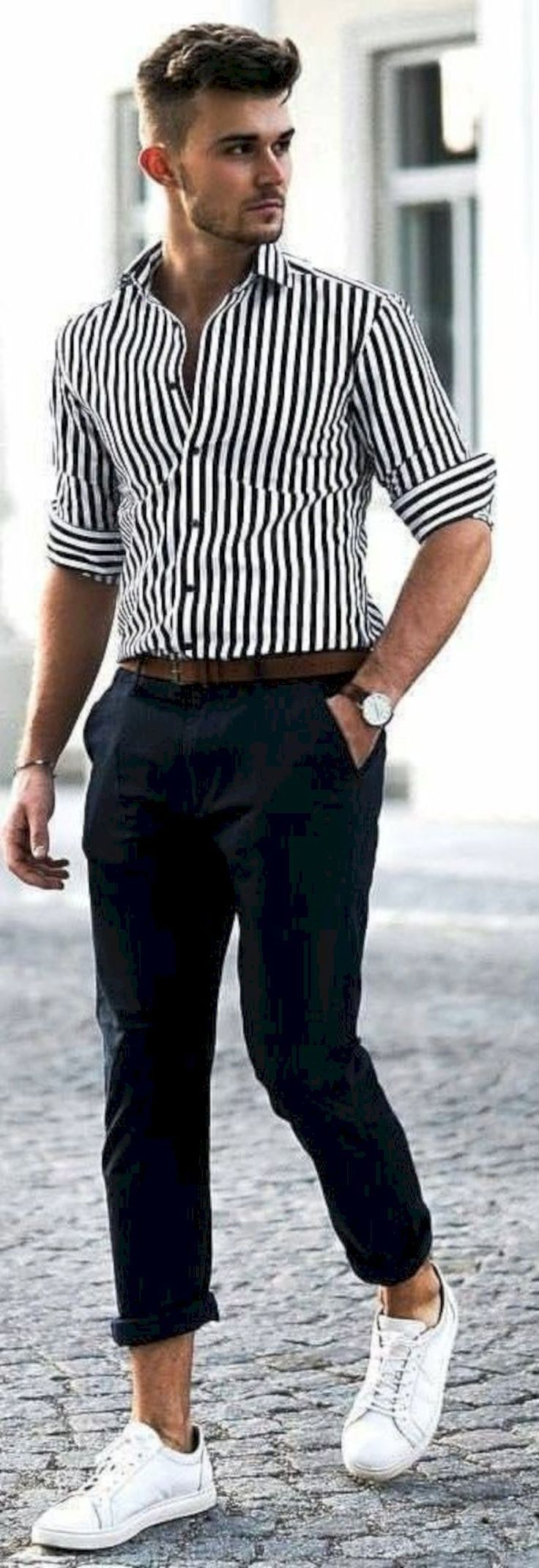 Cool 38 Fashion Street Fashion Ideas for Men #CasualClothingForMen