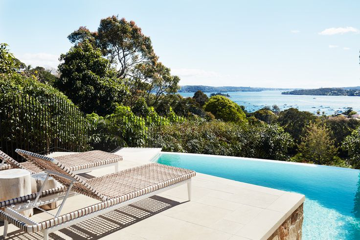 Swimming pool from Italianate Mansion in Sydney by Dylan Farrell Design. Photography: Prue Ruscoe | Styling: Karen Cotton