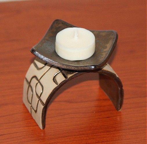 Dekoračný svietnik by V.O.K.O. - SAShE.sk - Handmade Keramika