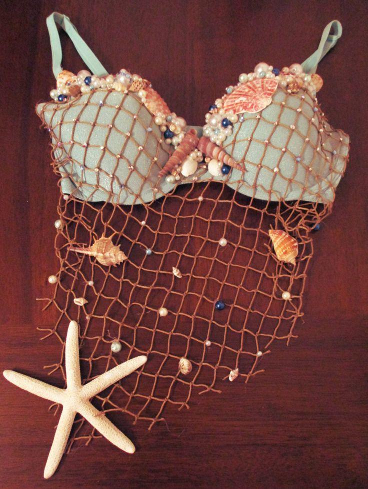 Halloween costume https://www.etsy.com/listing/464826640/mermaid-shell-bra