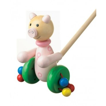 One of the wooden push along's that i sell age 12 months plus