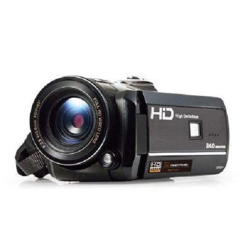 Ordro HD Digital Video Camera 1080p Night Vision Touch Screen WiFi Home movies