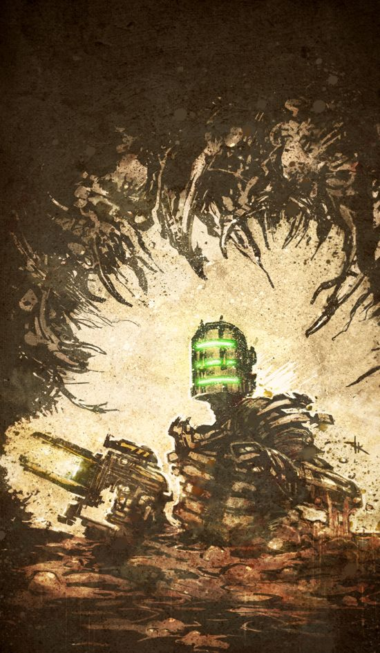 Dead Space by TimKelly #videogame #poster