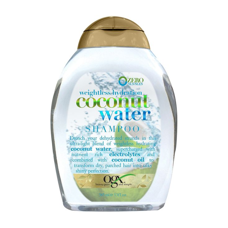 Ogx Weightless Hydration Coconut Water Shampoo - 13 fl oz