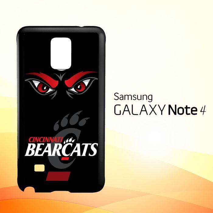 Cincinnati Bearcats Logo X3325 Samsung Galaxy Note 4 Case