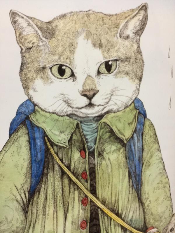 #アルファベット戦隊 のZはせかいいちのねこに出てくる旅の猫です #ヒグチユウコ