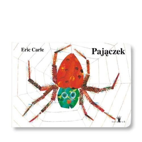 Obrazkowa książka opowiadająca o zwyczajach bardzo zapracowanego pająka. Zawiera wypukłe elementy i zachęca do naśladowania odgłosów zwierząt.
