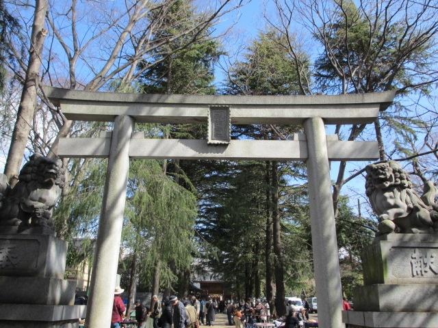 諏訪神社  Suwa Shrine in Tachikawa, Tokyo