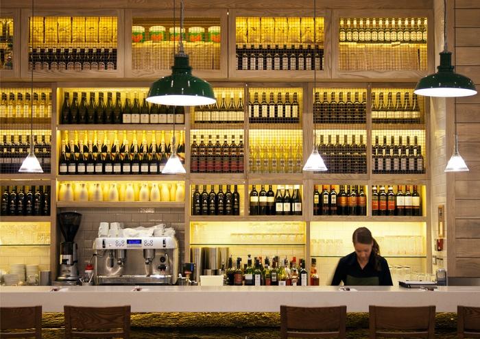 Wildwood canary wharf london restaurant and bar design